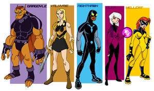 New new Defenders by sketchmasterskillz