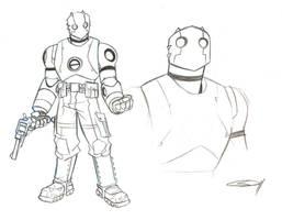 Atomic Robo by sketchmasterskillz