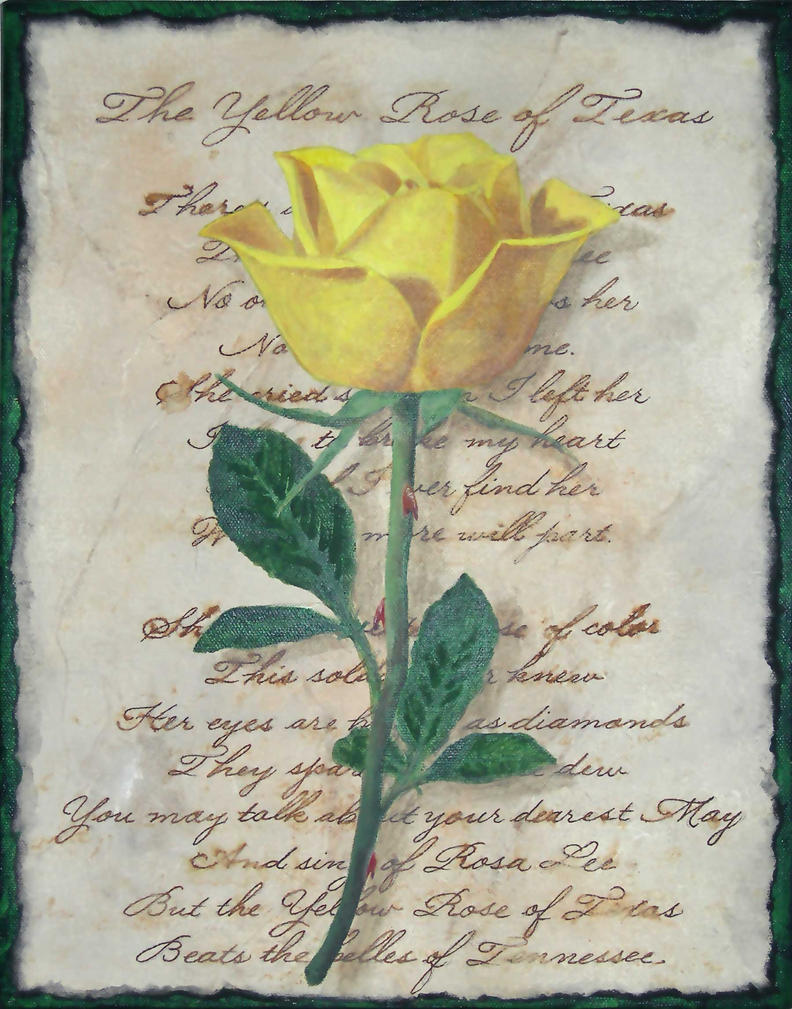 Yellow rose of texas by carolsmartinez on deviantart yellow rose of texas by carolsmartinez mightylinksfo