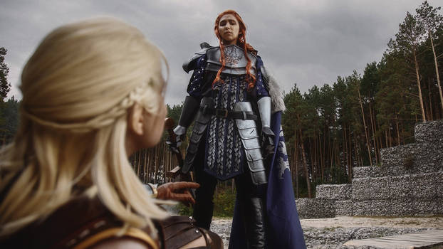 Meeting of the Gray Warden and Zevran