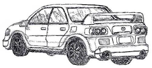 Just a made up car.. by ashitaka-sd