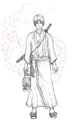 Samurai...or perhaps ronin? by ashitaka-sd