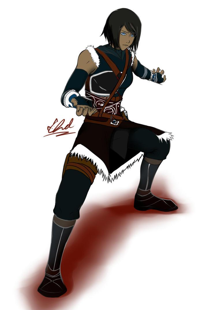Assassin Korra -full- by xXLittleBlueFireXx