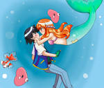 Pokeshipping: An Underwater Romance