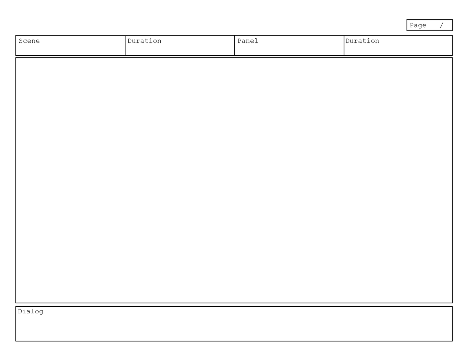 Magnificent Illustrator Storyboard Template Images - The Best ...