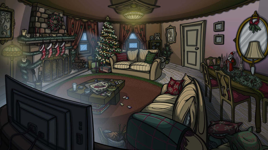 LIVING ROOM   2D GAME BACKGROUND By PencilCastle ...