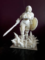 Wonder woman in cold ceramic!!!!!!! by Kanto-Art