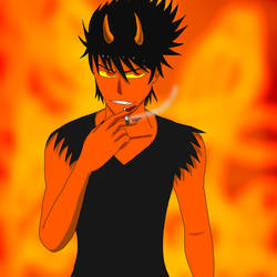 Smoking Like A Devil