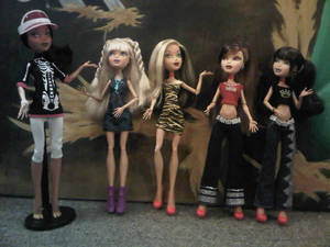 Some of my fave hybrids - My Scene on Monster High