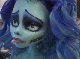 Corpse Bride Emily repaint on MH Ghoulia