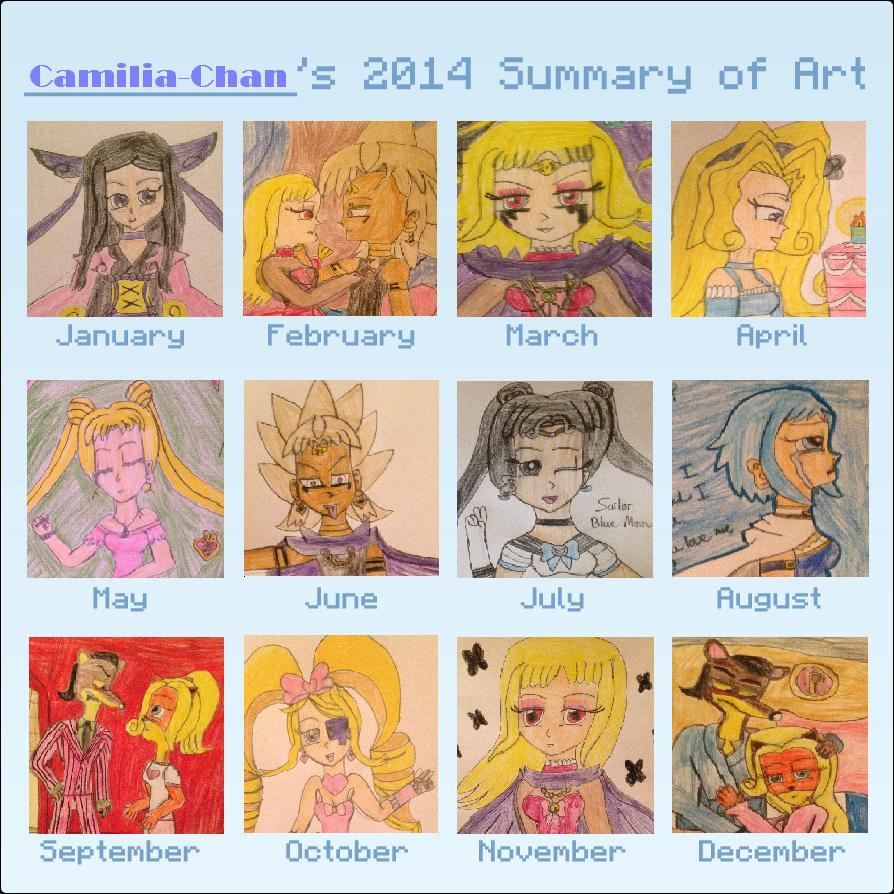 Summary of Art 2014 by Camilia-Chan