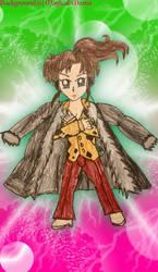 Sailor Moon X Fairy Tail: Makoto as Laxus by StellarFairy
