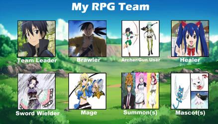 My RPG Team Meme
