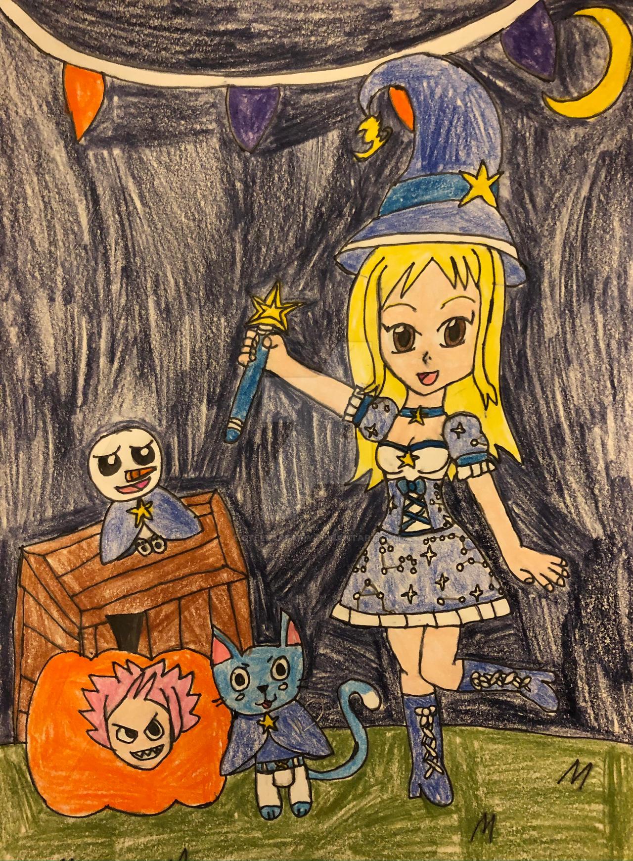 Lucy's Stellar Halloween