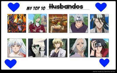 Top 10 Husbandos Meme, Part 1