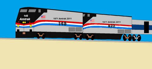 Amtrak Phase III Heritage Duo