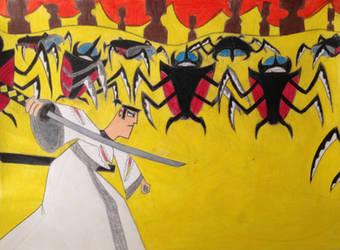 Samurai Jack - The First Fight by ShotgunDude