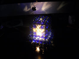 Chainmail Lamp, Turned On by Telperinon