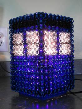 Chaimail TARDIS Lamp 2
