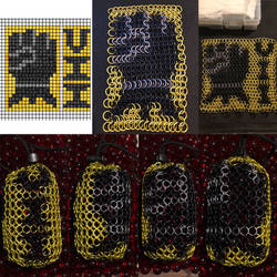 Imperial Fists Dice Bag