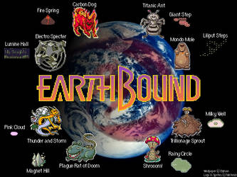 EarthBound Wallpaper by Bijman