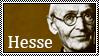 Hermann Hesse stamp by thegentlemanowl