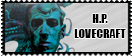 Hp Lovecraft stamp by thegentlemanowl