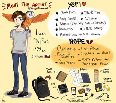 Meet the artist by thegentlemanowl