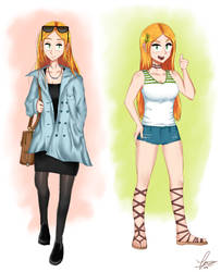 New clothes for Minerva by thegentlemanowl