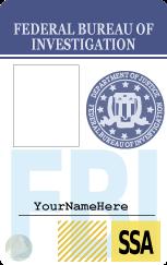 fbi badge template by rottenpie on deviantart. Black Bedroom Furniture Sets. Home Design Ideas
