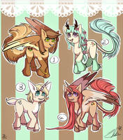 Sweet Pony Adopts! OPEN by RemAdopts