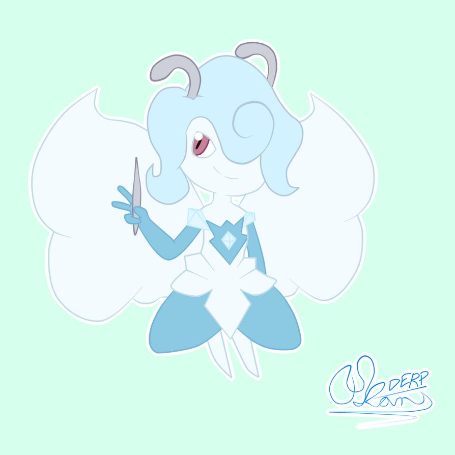 Ice Fairy by Okamiderp