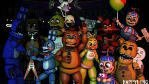 [SFM FNAF] Five nights at Freddy's 2