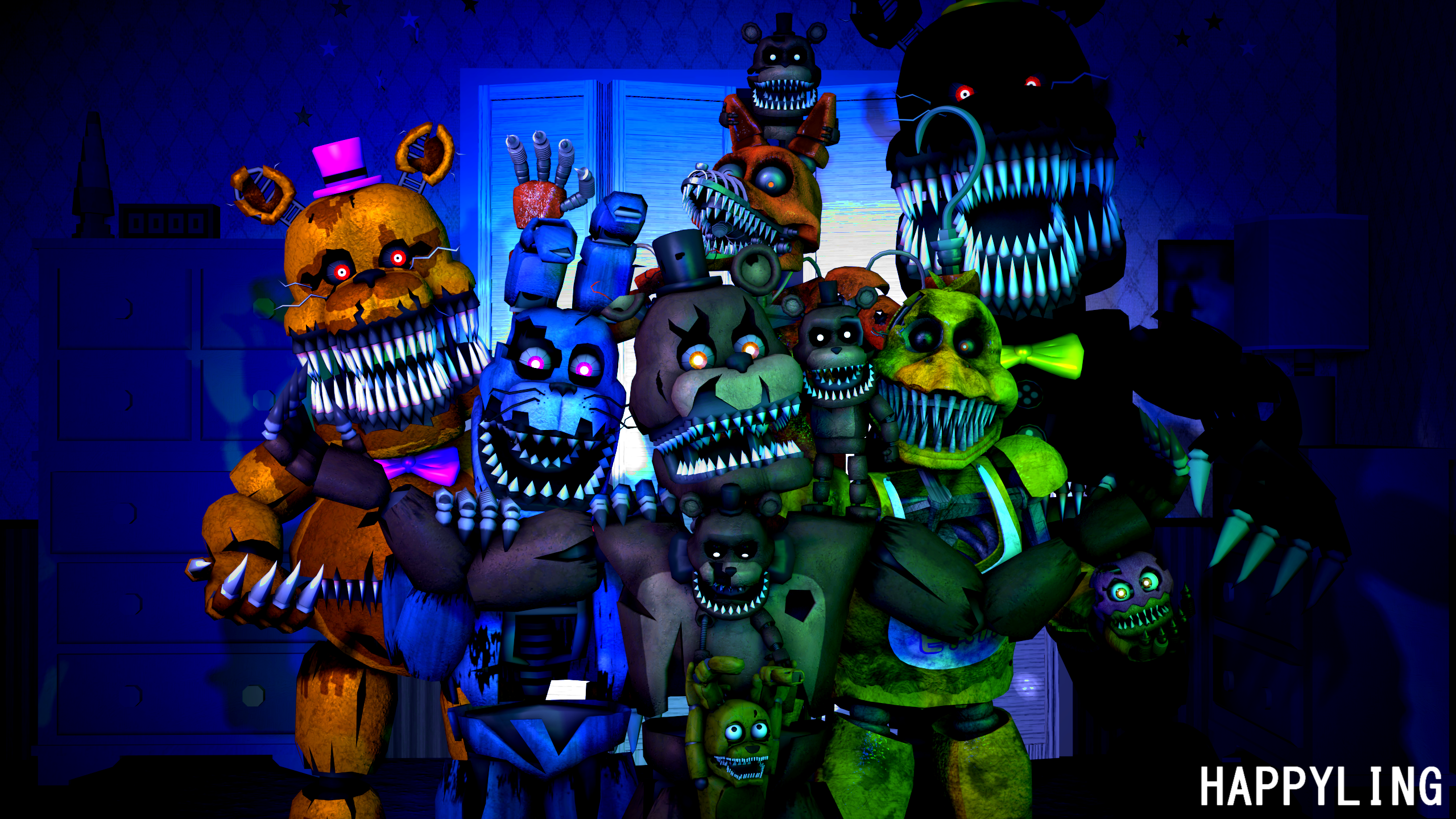 Five nights at freddys backgrounds 2560x1440 myideasbedroom com
