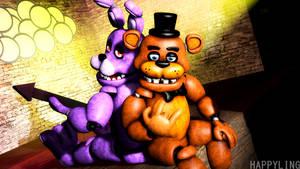[SFM FNAF] Freddy and Bonnie the best duo
