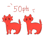 P2U Tiny Cat Base - 50 pts