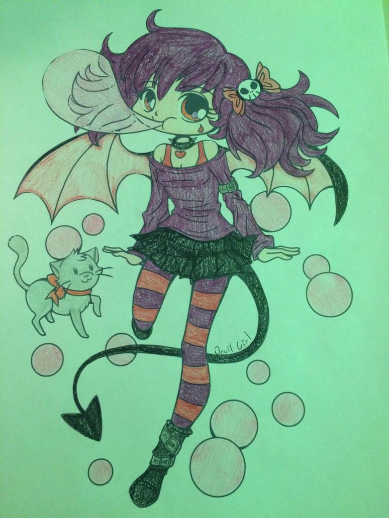 Devil Girl : Bubblegum B***h by DaBonBonFandomizer