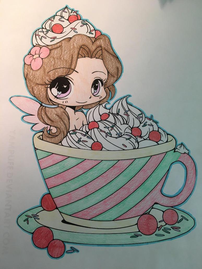 Cup Girl by DaBonBonFandomizer