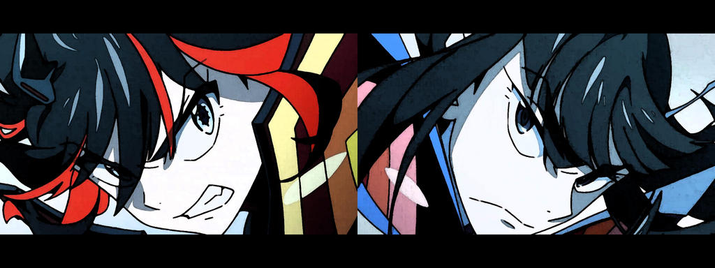 Kill la Kill Dual Screen Wallpaper 01 by ChiyoDad ...