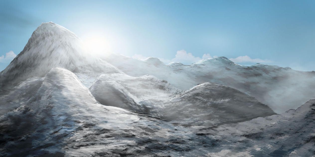 snowymountains by bernhardRiedl