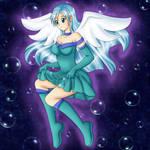 Bubble Angel re-do 2021 by PunkBune