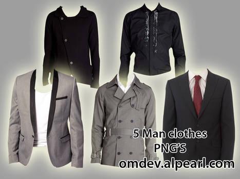 5 man clothes png