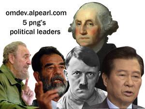 5 png's political leader's