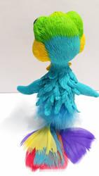 Polymerclay Bird by Thalyndra