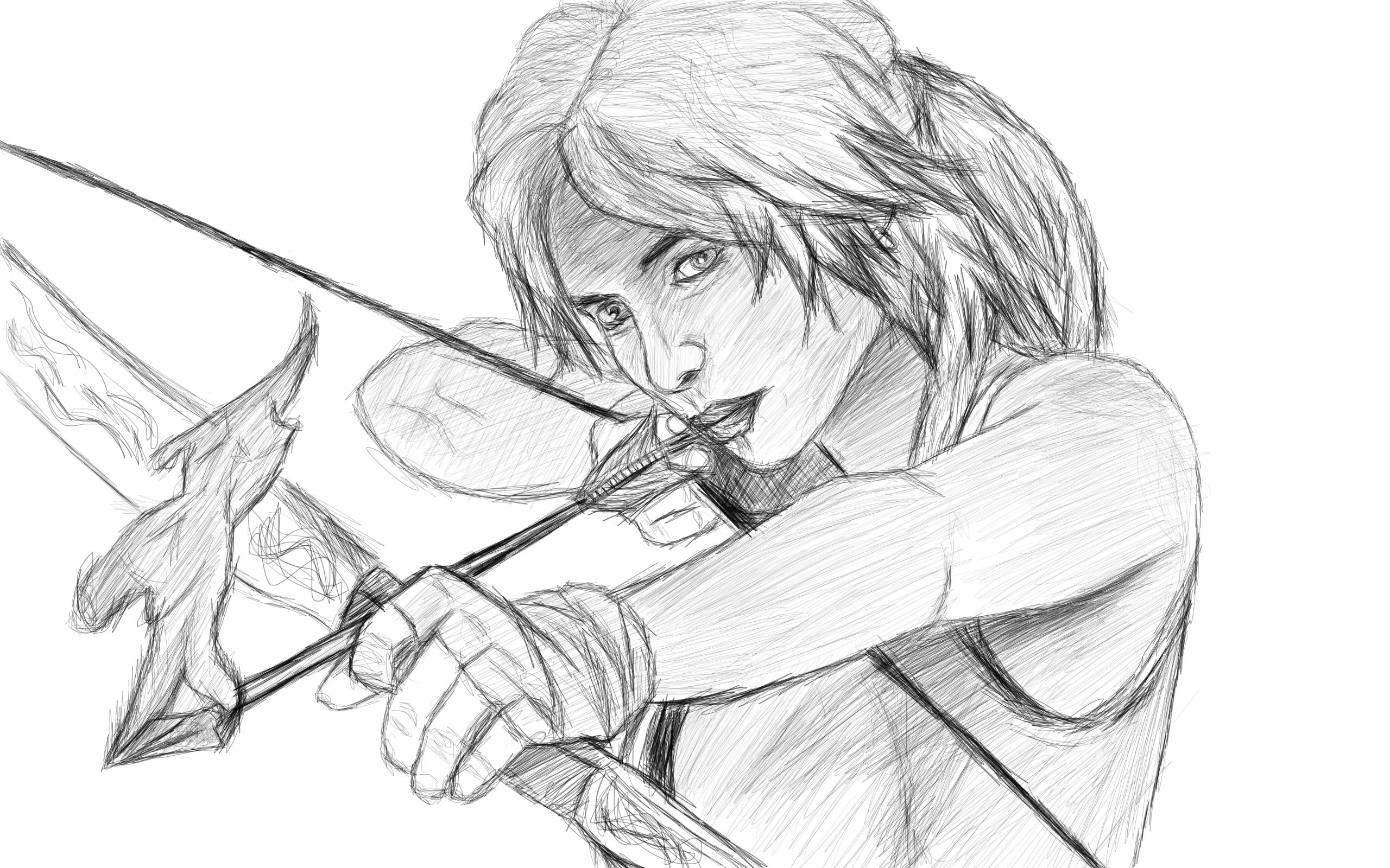 Lara Croft TOMB RAIDER 2013 by CodyBad
