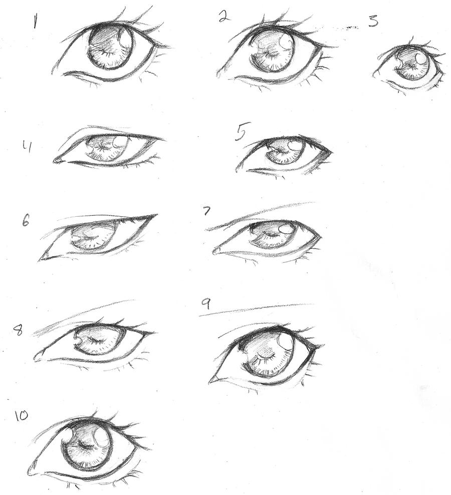 Eye Designs By Innocent sakanaza On DeviantArt