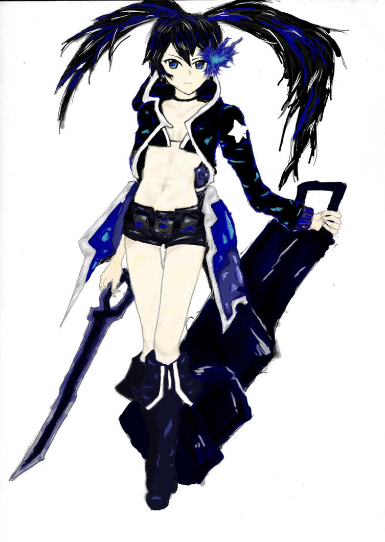 Black rock shooter by innocent-sakanaza