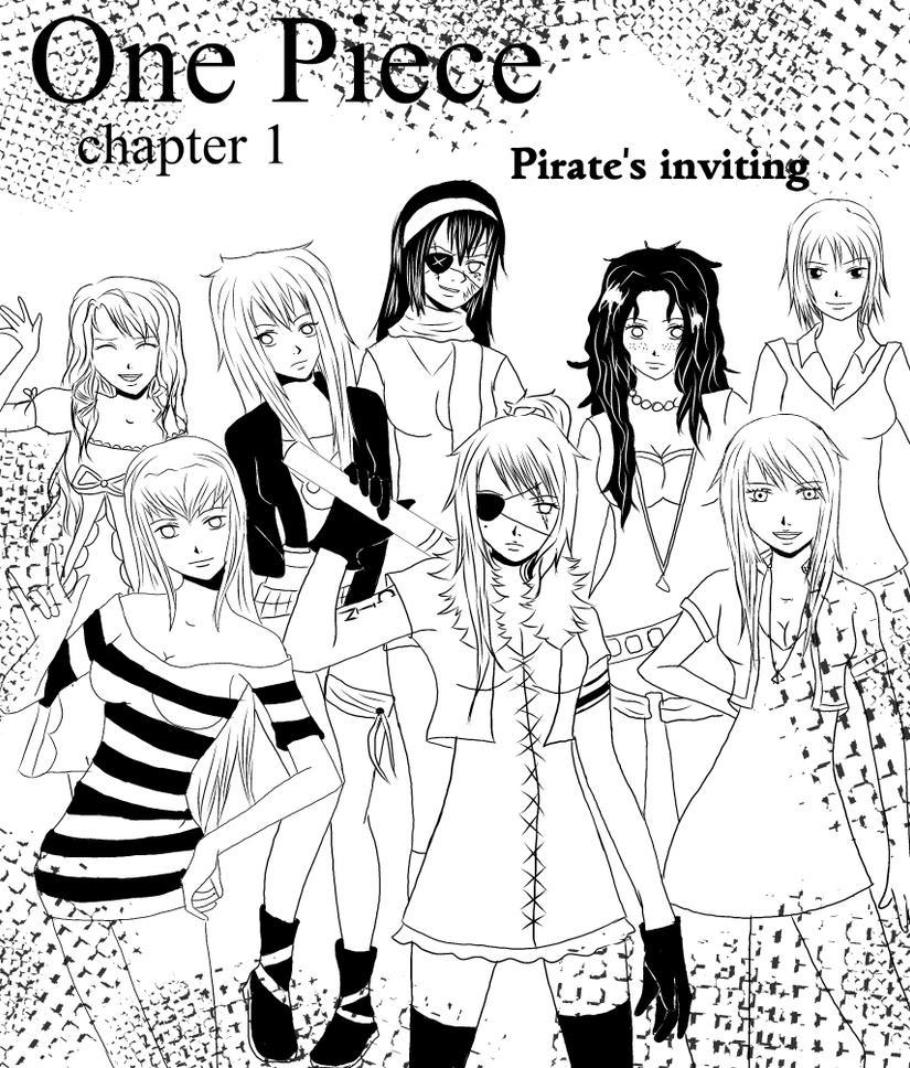 One Piece: Chapter 1:cover by CinklTuOderschvank on DeviantArt