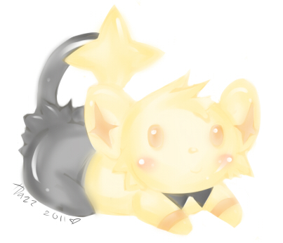 Shiny Shinx by WanNyan