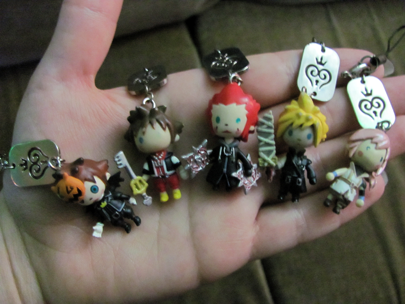 Kingdom Hearts phone charms by WanNyan on DeviantArt